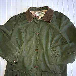 Women's LL Bean Barn Jacket Size 1X